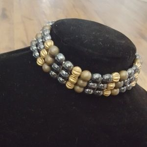 Vintage - MEI FA Stone Chocker Necklace